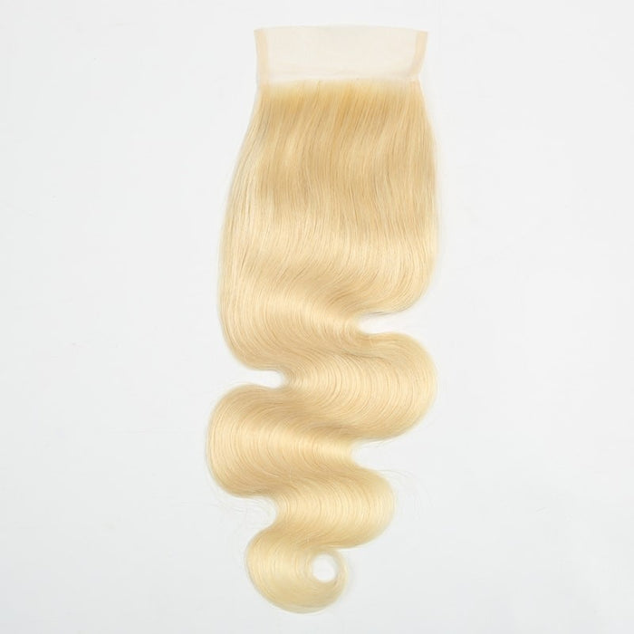 613 Blonde Body Wave Closure