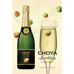 CHOYA Original Sparkling Japanese UME Fruit 750ml