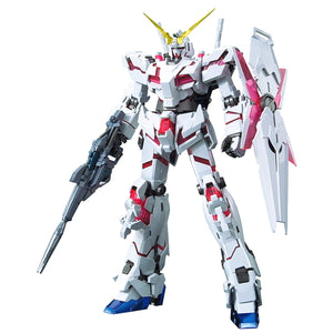 MG Unicorn Gundam Red/Green Frame Twin Frame Edition Titanium Finish