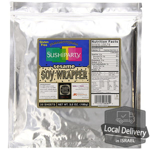 Soy Wrapper Sesame 20 sheets