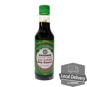 Kikkoman Less Sodium Soy Sauce 296ml