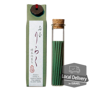 Incense Riraku - Green tea