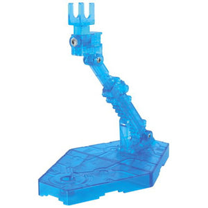Action Base 2 Display Stand (1/144 Scale) Clear Blue