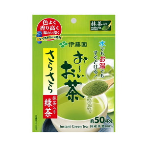 Itoen Ohi ocha green tea powder with matcha 40g
