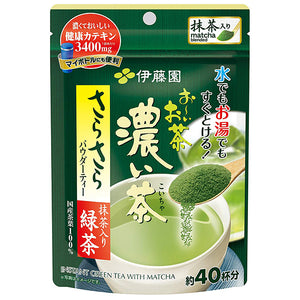 Itoen Ohi ocha Strong green tea powder with matcha 32g
