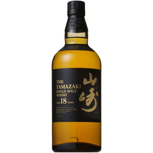 [FREE Shipping ] Suntory Single malt whiskey Yamazaki 18 years old 700ml