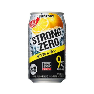 Suntory -196℃ Strong ZERO Dobble Lemon 350ml