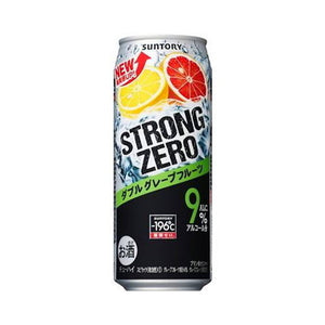 Suntory -196℃ Strong ZERO Double Grapefruit 500ml