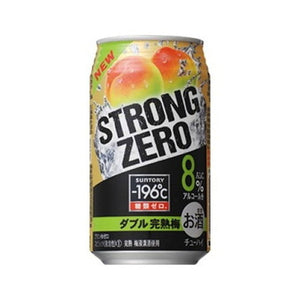 Suntory -196℃ Strong ZERO Double Kanjuku Ume Plum 350ml