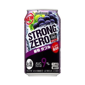 Suntory -196℃ Strong ZERO Double Grape 350ml