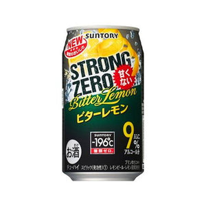Suntory -196℃ Strong ZERO Bitter Lemon 350ml