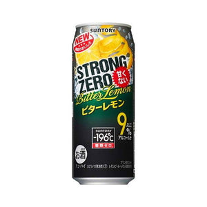 Suntory -196℃ Strong ZERO Bitter Lemon 500ml