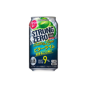Suntory -196℃ Strong ZERO Bitter Lime 9% 350ml