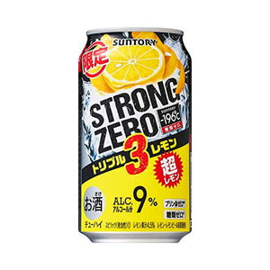Suntory -196℃ Strong ZERO Triple Lemon 350ml