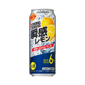 Suntory -196℃ Strong ZERO Shunkan Lemon 6% 500ml