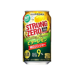 Suntory -196℃ Strong ZERO Bitter Lemon&Ginger 350ml