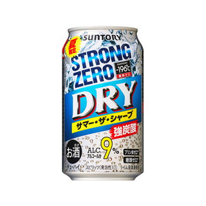 Suntory -196℃ Strong ZERO Dry Summer Sharp 350ml