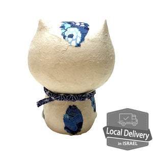 Chigiri Washi Happy Cat - blue