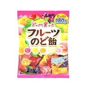 Asahi Fruits Cough drops 180g