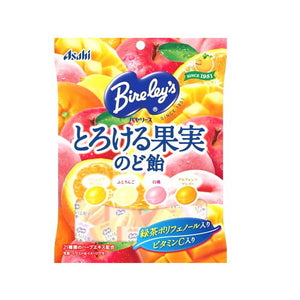 Asahi Bireleys Jucy Fruits Cough drops 120g