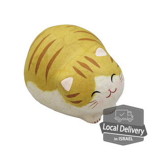 Chigiri Washi Cat - Brown
