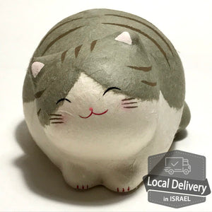 Chigiri Washi Cat - Gray