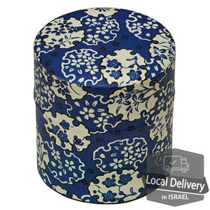 Tea Container Poccan - Blue Flowers S