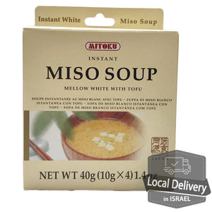 Mitoku Instant Miso Soup with Tofu 4pacs