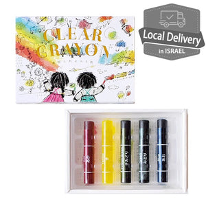 Kokuyo Clear Crayon 5 color Set