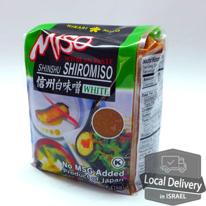 Shinshu Shiro Miso Soybean Paste 1kg