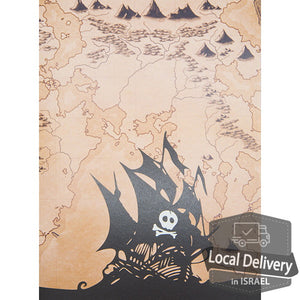 Pop-up Greeting Card - Pirate ship