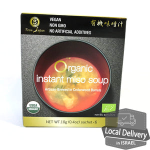 Muso Organic Instant Miso Soup 6pacs