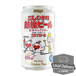 Echigo Beer Koshihikari 350ml