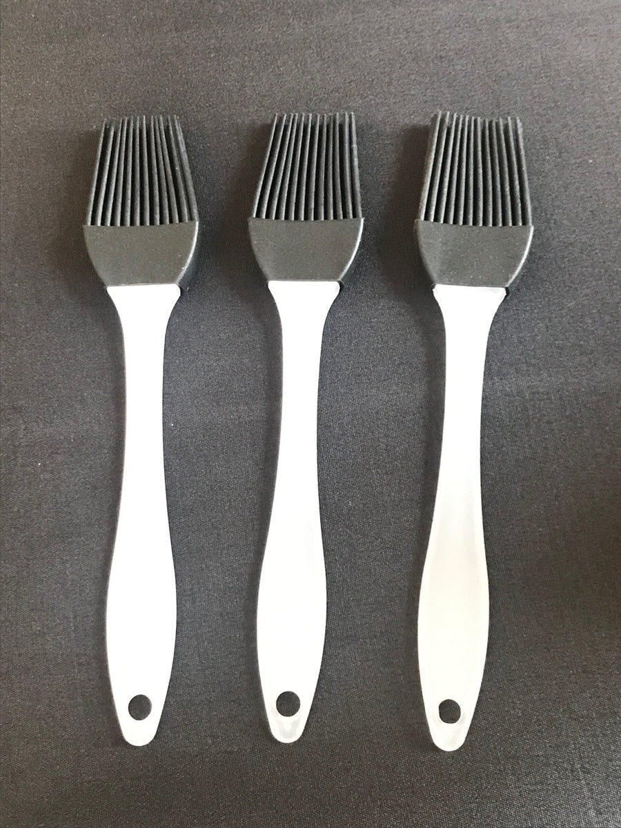 BBQ Basting Brushes / 3 Pack / 3 Colors