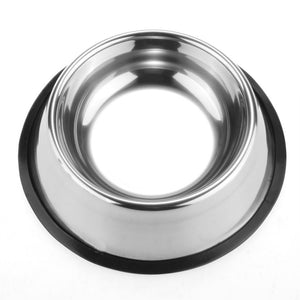 Dog Stainless Steel Bowl - Anti Slip