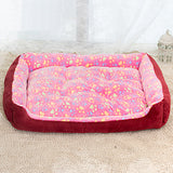 NEW Warm Corduroy Padded Dog Bed - Waterproof & Washable