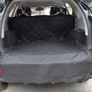 Super High Quality Quilted Dog Cover for SUV Trunk - Waterproof