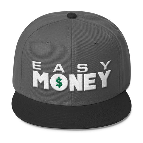 Easy Money - Wool Blend Snapback