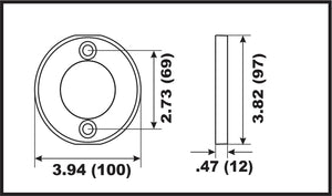 00113A Volvo Penta V-15 Prop Ring Anode