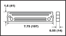 00353A Suzuki Outboard Bar Anode 40-300hp