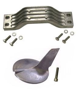 10186A Yamaha 200-300 2 stroke Outboard Complete Anode Kit