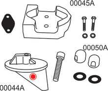 10205A Mercruiser Alpha 1 Gen I Complete Anode Kit  (No Power Steering)