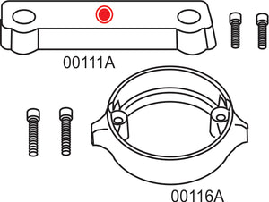 10275A Volvo Penta 280 Duo Prop Complete Anode Kit