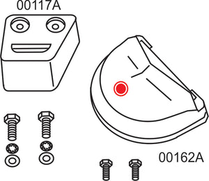 10278A Volvo Penta SX/DP-SM Complete Anode Kit