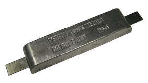 HA3A-S 5 lb Strap Anode (With Steel Strap)