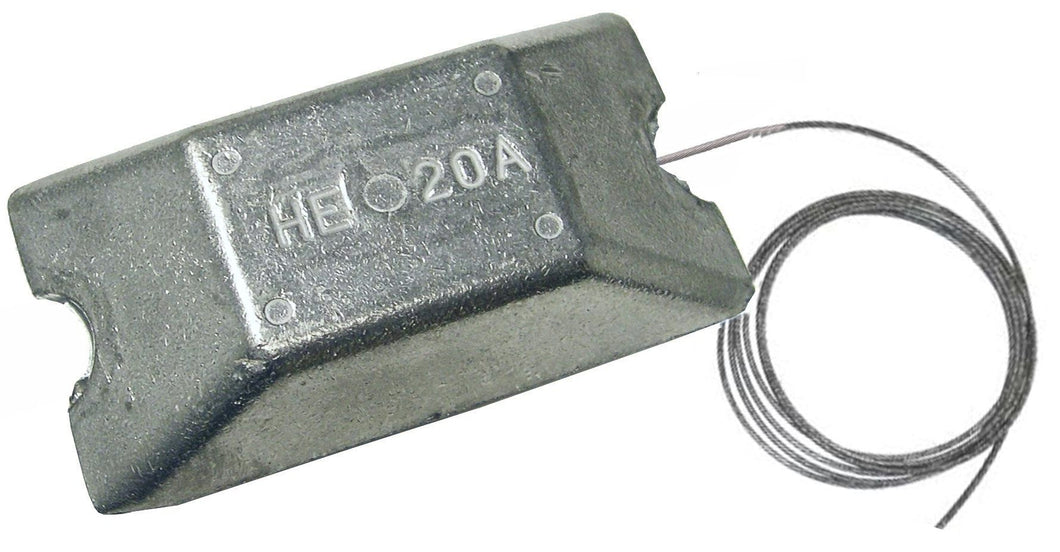 HE20AW 1.8 lb Hanging Anode