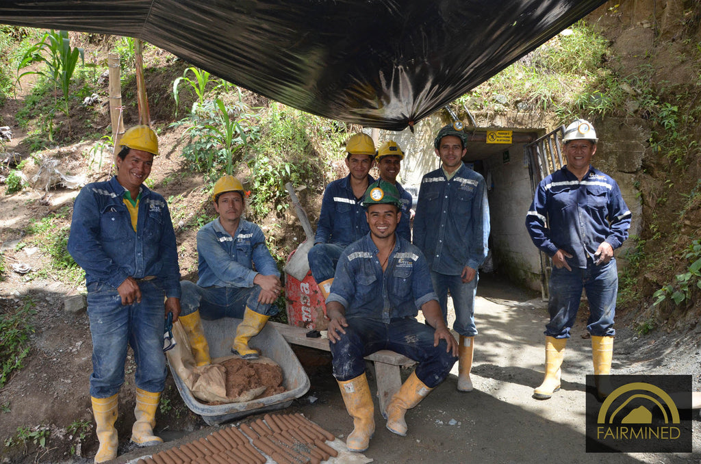 MINERS AT THE SAN JOSE MINE, IQUIRA / COLOMBIA (C) ARM