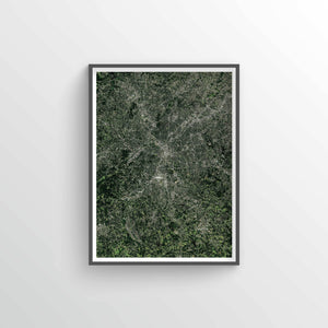 Atlanta Earth Photography - Art Print - Point Two Design