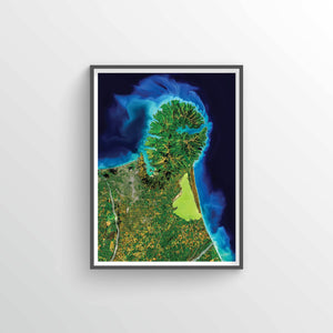 Banks Peninsula Earth Photography - Art Print - Point Two Design