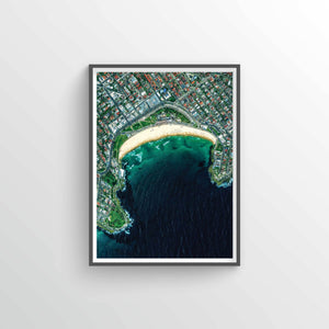 Bondi Beach Earth Photography - Art Print - Point Two Design